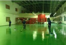 Quy trình thi công sơn epoxy cho nền sàn nhà xưởng