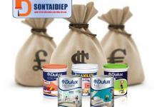 Báo giá Sơn Dulux 2018 - Bảng giá niêm yết của tập đoàn AkzoNobel sơn Dulux năm 2018