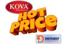Báo giá sơn Kova 2018 – Bảng giá niêm yết tiêu chuẩn của tập đoàn Kova năm 2018