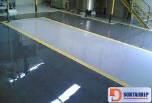 Sơn sàn nhà Epoxy 2 thành phần cho bề mặt thép