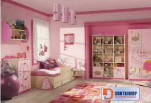Hướng dẫn trang trí phòng ngủ giúp trẻ phát triển tư duy bằng sơn Kova