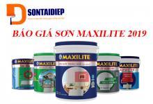 Báo giá Sơn Maxilite 2019 - Bảng giá niêm yết của tập đoàn AkzoNobel