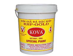 Sơn giả đá Kova KSP- Gold Vẩy Mịn 20kg