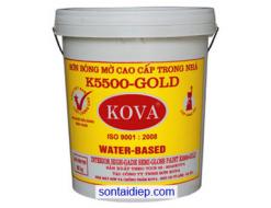 Kova K-5500 - Sơn bán bóng cao cấp trong nhà - 4kg