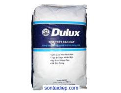 Bột trét Dulux cao cấp trong nhà và ngoài trời 40kg