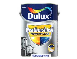 Dulux Weathershield PowerFlexx - Bề Mặt Bóng Mờ (GJ8-5L)