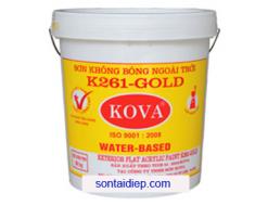 Kova K-261 - Sơn nước ngoài trời không bóng 20kg