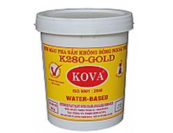 Sơn màu pha sẵn ngoài trời màu đậm K280 -  GOLD (4kg)