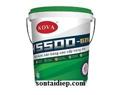 Kova K-5500 - Sơn bán bóng cao cấp trong nhà - 20kg