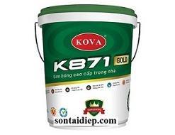 K-871 Sơn bóng cao cấp trong nhà 20kg