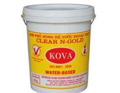 Sơn phủ bóng Clear N-Gold ngoài trời (20kg)