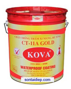 Kova CT-11A - Chất chống thấm sàn xi măng, bê tông - 4kg