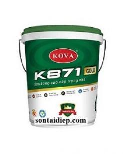 K-871 Sơn bóng cao cấp trong nhà 4kg